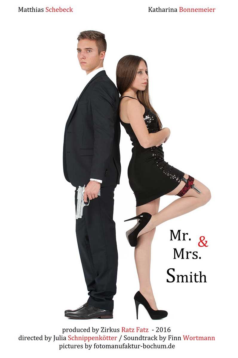 Mr. and Mrs. Smith - Jetzt bei UNS auf der Bühne!